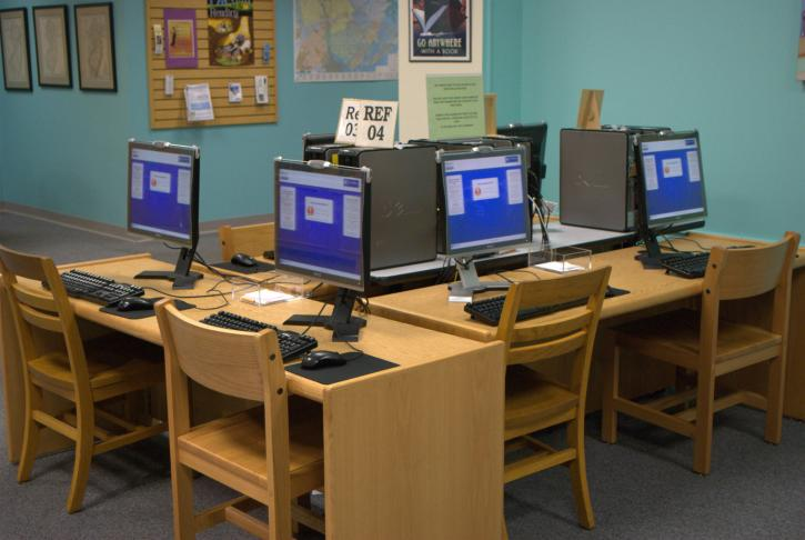 Mays Landing Second Floor Computers