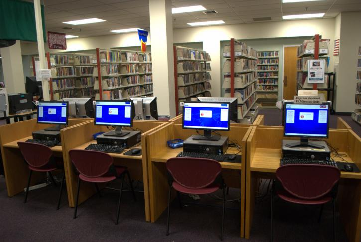 Mays Landing First Floor Computers